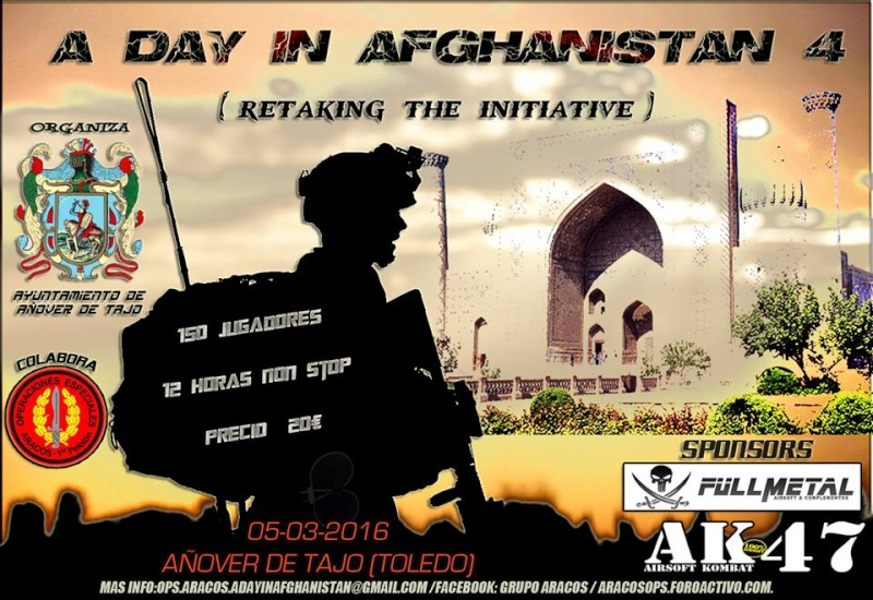 05/03/2016, A DAY IN AFGHANISTAN 4 Portad11