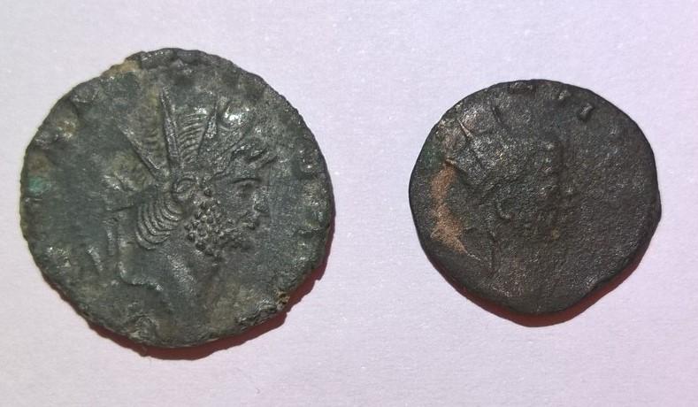 """Antoninien de Gallien """"DIANAE CONS AVG"""" Antilope ou gazelle Wp_20112"""