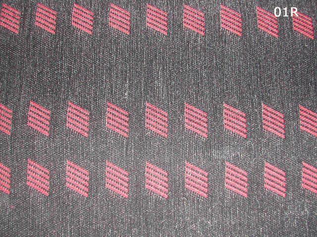 uno turbo mk1 interior fabric barre rosse, red lines Tessut11