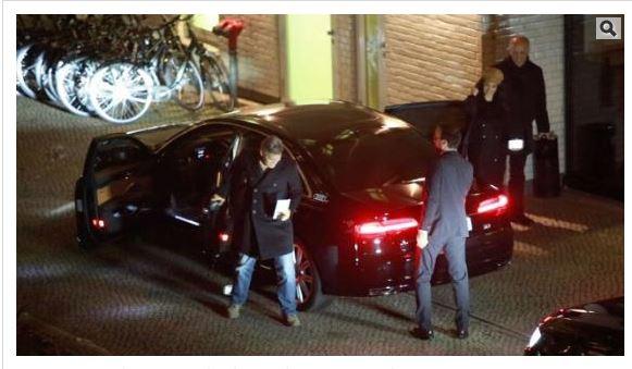 George Clooney & Amal arrive in Berlin 10.02.2016 Aa310