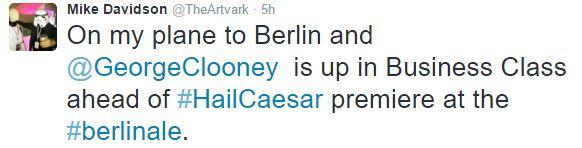 George Clooney & Amal arrive in Berlin 10.02.2016 Aa410