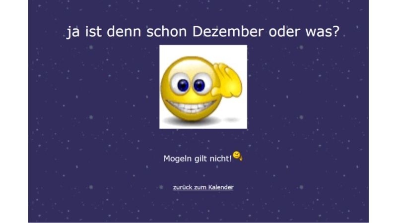 Adventskalender 2015 Advent10