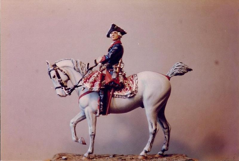 Friedrich II. zu Pferd und zu Fuß K800_110