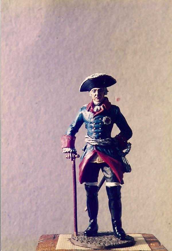 Friedrich II. zu Pferd und zu Fuß K800_210