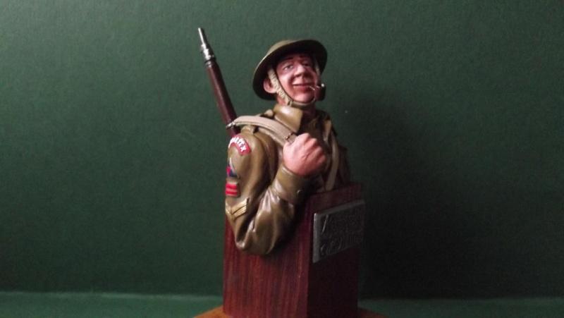 Büste British Infantryman D-Day 1944 K800_d49