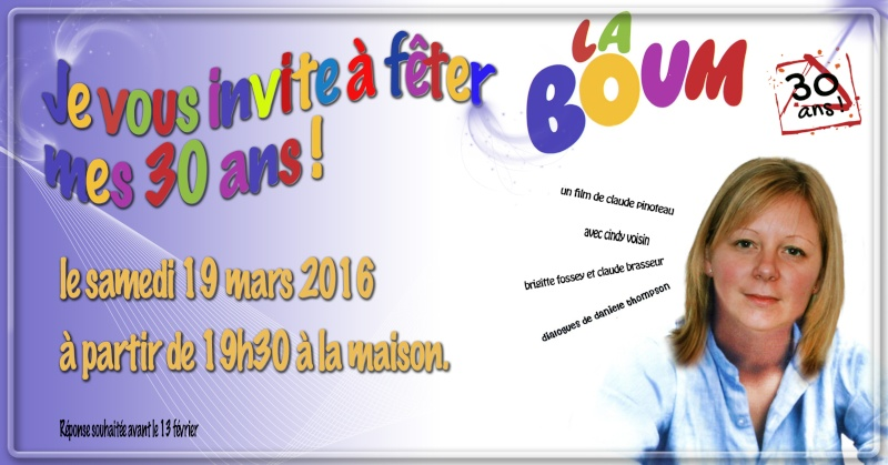 Invitation 30 ans Carte-10