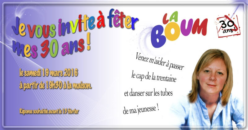 Invitation 30 ans Carte-12