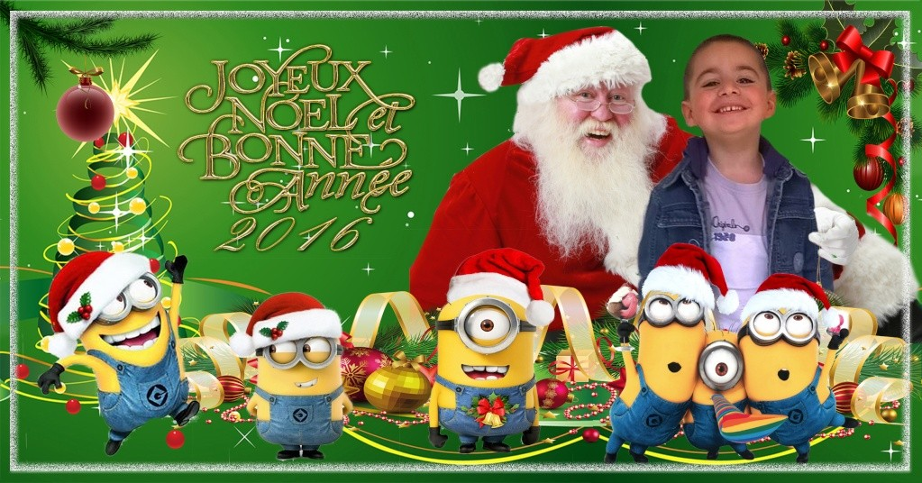 Montage Photos de Noel  Minion10