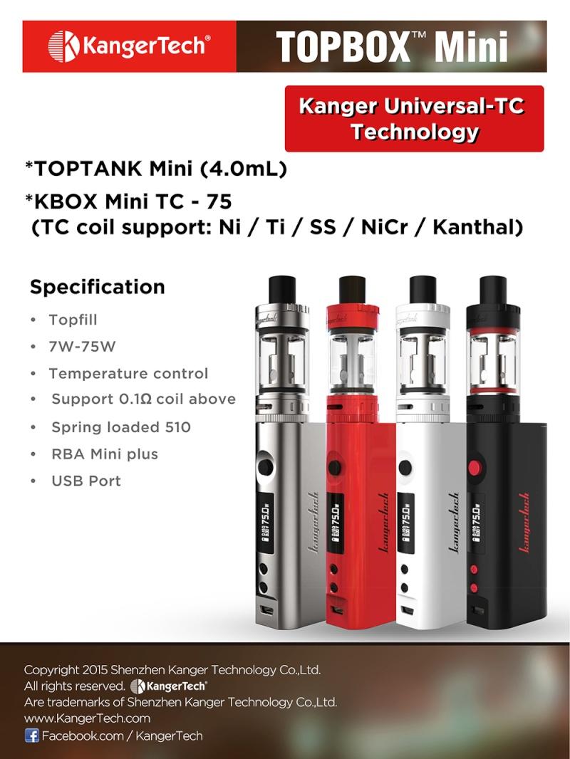 KBOX Mini Platinum par Kangertech Topbox10