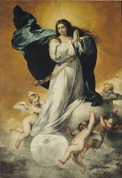 Marie Reine des anges Murill10