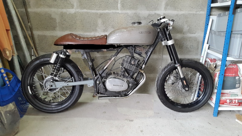 HONDA 250 XLS 1982 Cafe Racer - Page 2 20160110