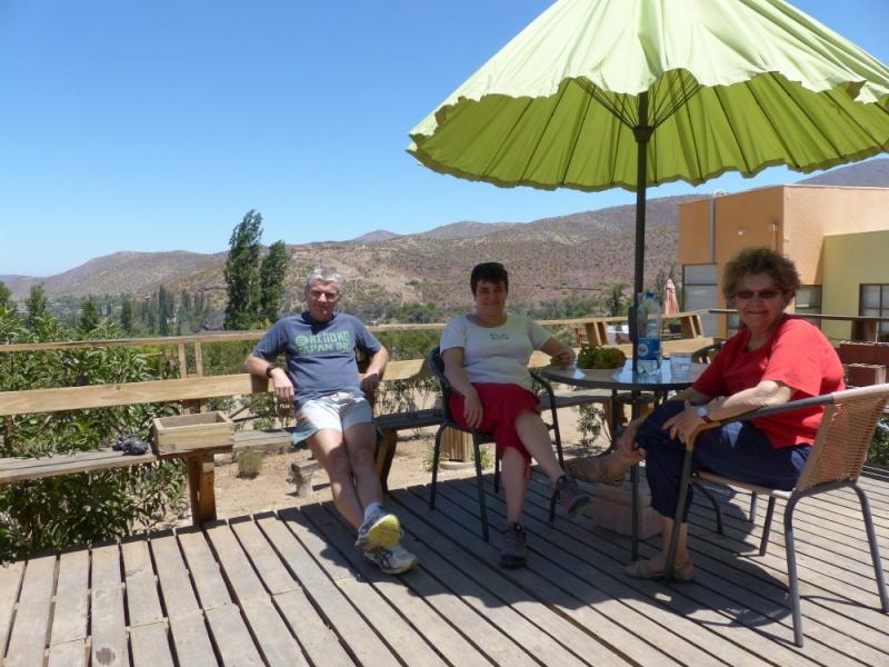Hacienda des étoiles (Chili) Dejeun10