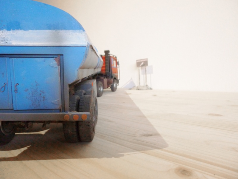 Renault 310 Italeri mit Tanktrailer 1:24 --Wasser für Santa Margerita Fa01710