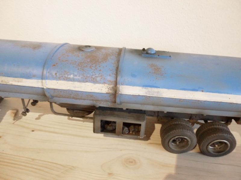 Renault 310 Italeri mit Tanktrailer 1:24 --Wasser für Santa Margerita Fa0410