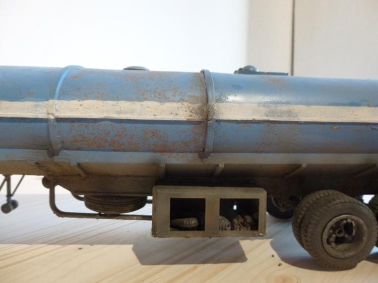 Renault 310 Italeri mit Tanktrailer 1:24 --Wasser für Santa Margerita Fa1310