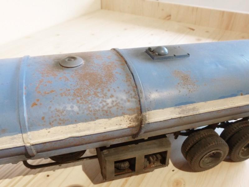 Renault 310 Italeri mit Tanktrailer 1:24 --Wasser für Santa Margerita Fa1910