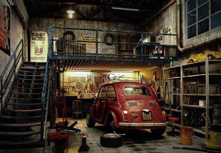 Déco intérieur - Page 6 Garage21