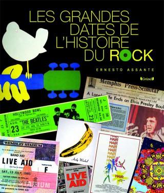 Livre Les grandes dates de l'histoire du rock Grande10
