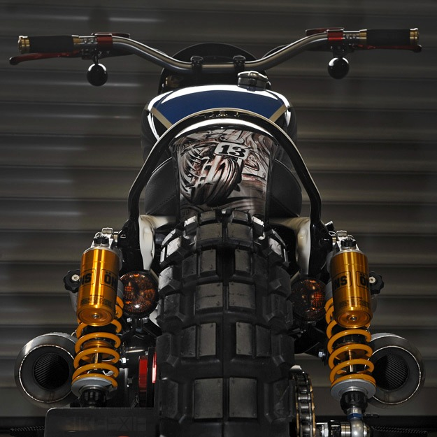 Le scrambler Sportster Custom XLST3 Harley20