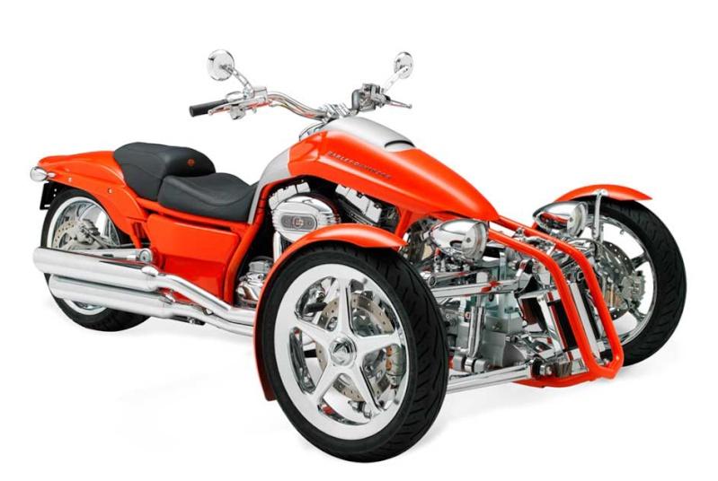 Prototype de trike HD Harley21
