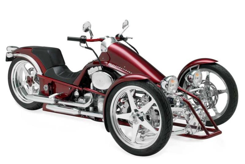 Prototype de trike HD Harley22