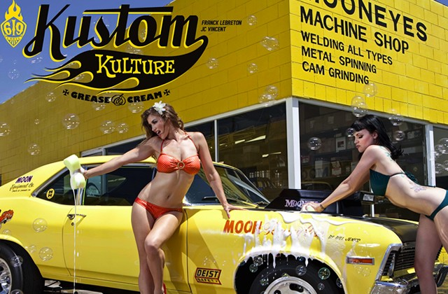 Livre Kustom Kulture grease and cream Kustom14
