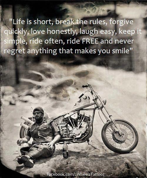 Biker et fier de l'être - Page 2 Phrase10