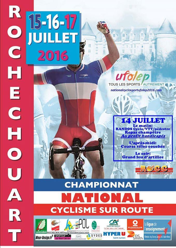 UFOLEP 2016: Championnat national Cyclosport à Rochechouart le jeudi 14/07 - Page 3 France11