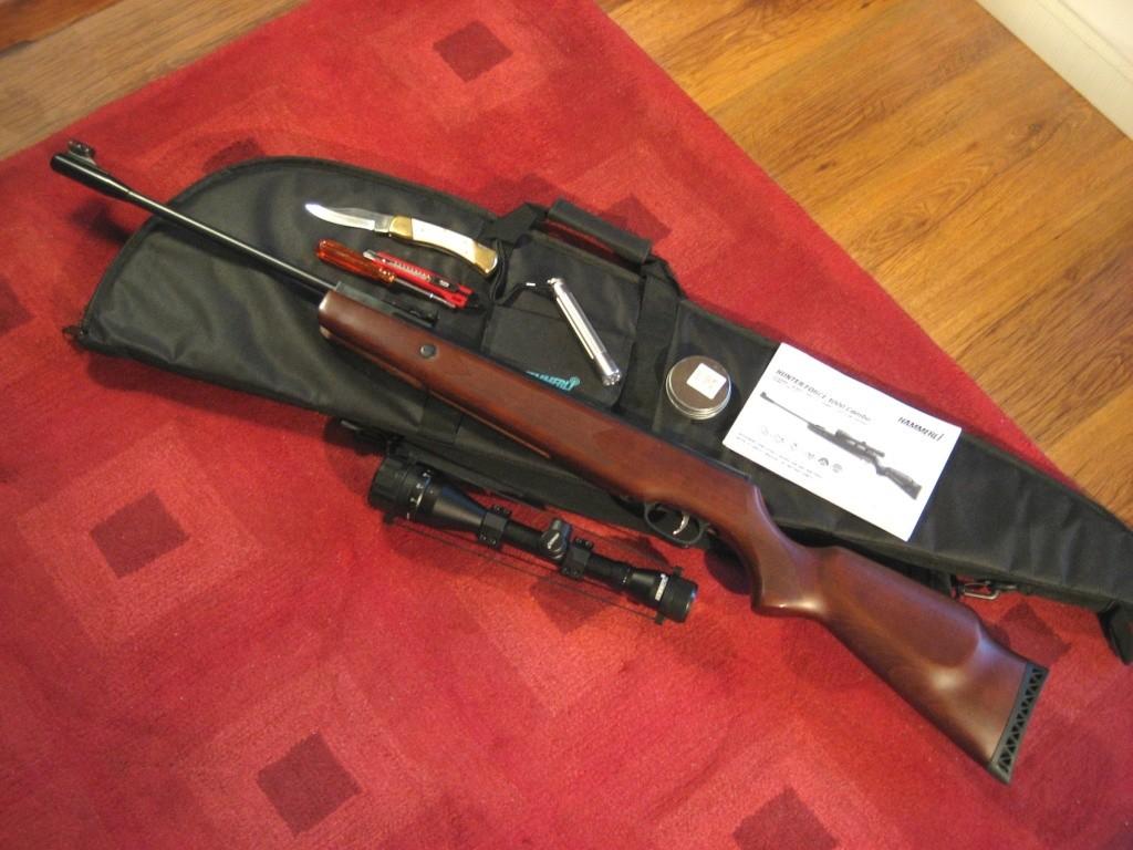 Hämmerli Hunter Force 1000 + lunette Hämmerli 6 x 42 Hammer29