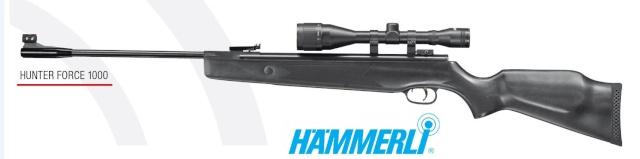 Hämmerli Hunter Force 1000 + lunette Hämmerli 6 x 42 Hammer30