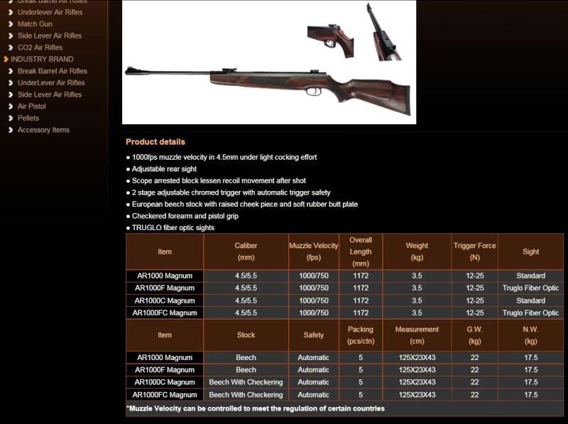 Carabine Hammerli Hunter Force 1000 Combo Image143