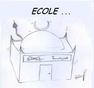 Ecole ou mosquée? Adieu l' Algérie! 3010