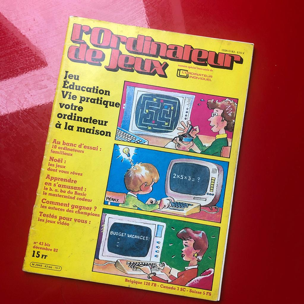 """""""L'ordinateur de jeux"""" de décembre 82 : revue nostalgique ! 0110"""