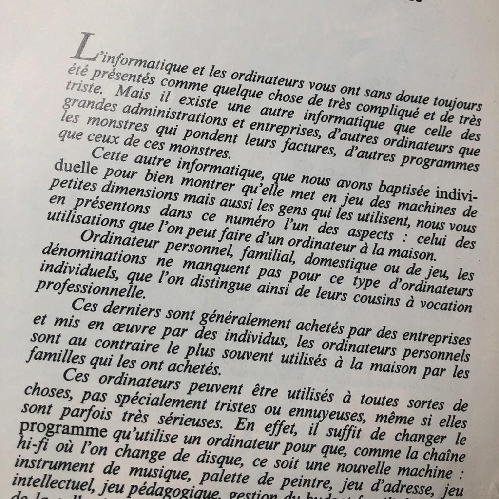 """""""L'ordinateur de jeux"""" de décembre 82 : revue nostalgique ! 0310"""