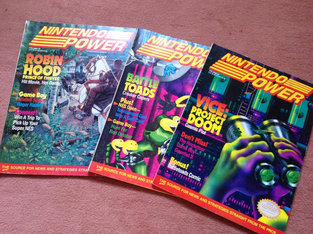 L'avant Super NES : la montée de la hype dans NINTENDO POWER aux US ! Np0210