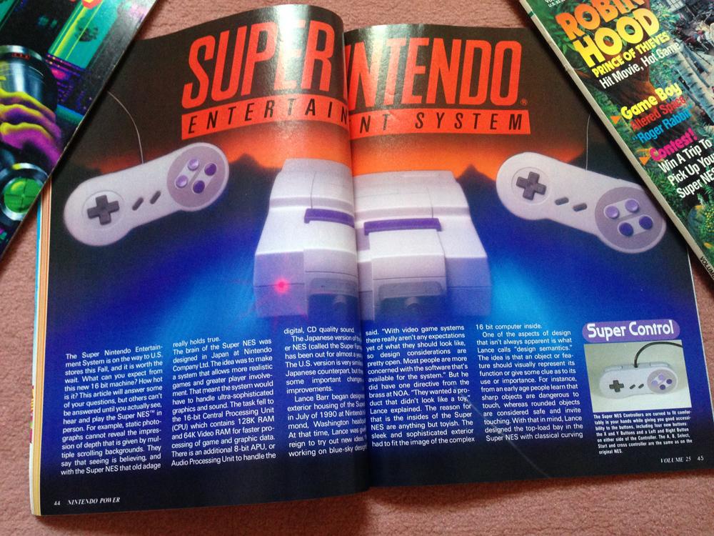 L'avant Super NES : la montée de la hype dans NINTENDO POWER aux US ! Np0410