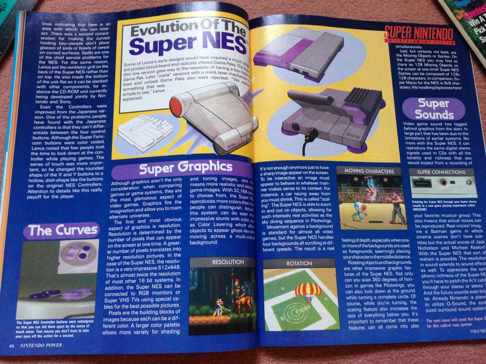 L'avant Super NES : la montée de la hype dans NINTENDO POWER aux US ! Np0510