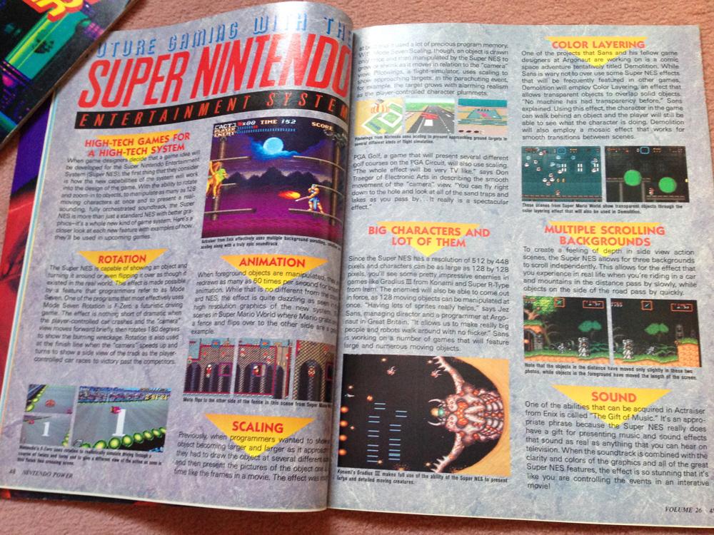 L'avant Super NES : la montée de la hype dans NINTENDO POWER aux US ! Np0810