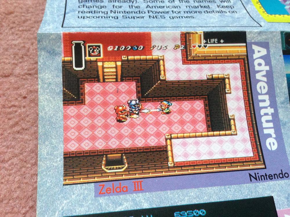 L'avant Super NES : la montée de la hype dans NINTENDO POWER aux US ! Np1110