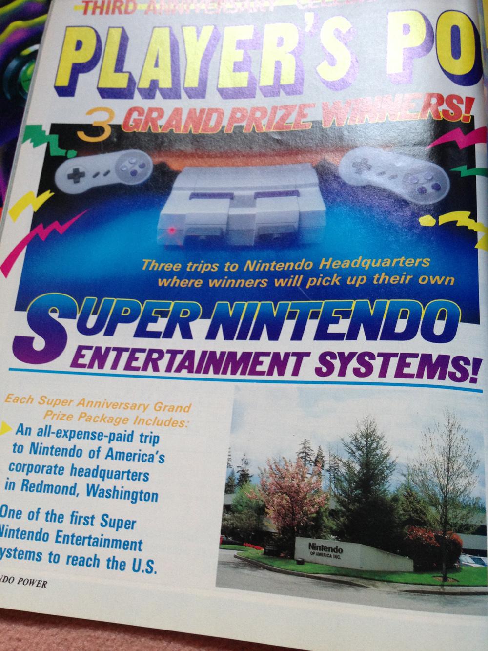 L'avant Super NES : la montée de la hype dans NINTENDO POWER aux US ! Np1310