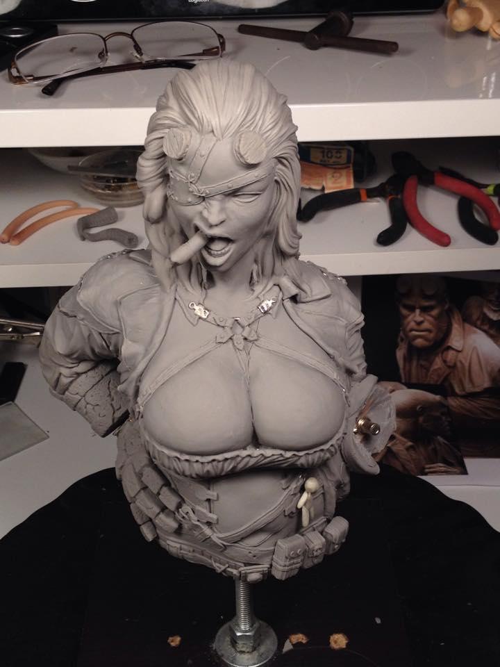 Les travaux de Seb06 Wonder Woman et Catwoman plus size - Page 14 Hell_g10