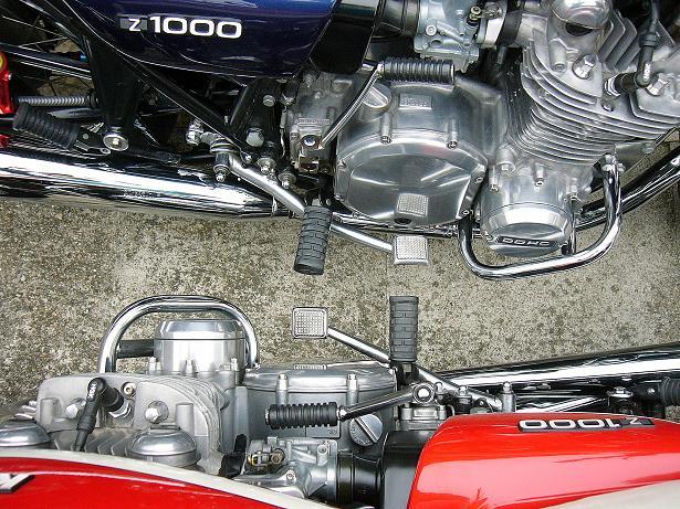 Montage de 4 pots de 900 sur une Z1000 - Page 5 P1200310