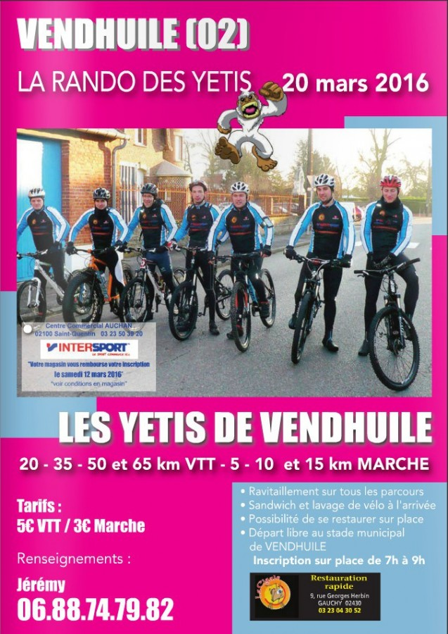 [02] La Rando des Yétis - Vendhuile - 20 Mars 2016 Flyers10