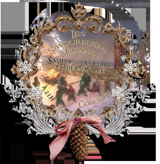 Concert de Yule des Savoureuses Mélodies Affich12