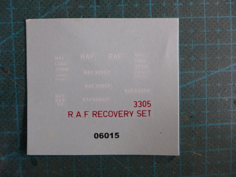 R.A.F. Recovery Set P1050046