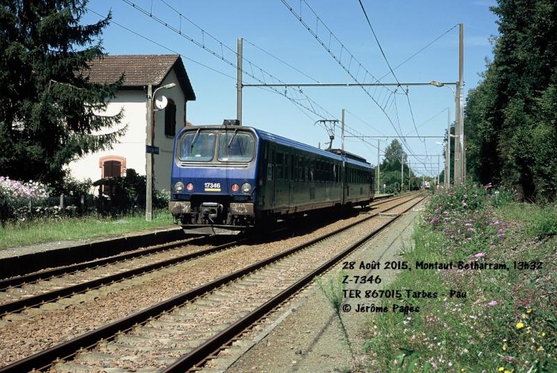 Pk 082,2 : Gare de Foix (09) - 1998 :  Z-7362 au printemps R2015_10