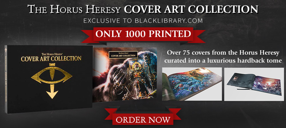 [Horus Heresy] Cover Art Collection - Artbook 16-01-10