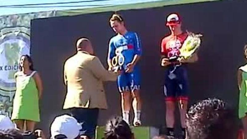 Jacub Mareczsko podio 7a tappa » San Luis › San Luis (119.6 km) del Tour de San Luis senza Viviani