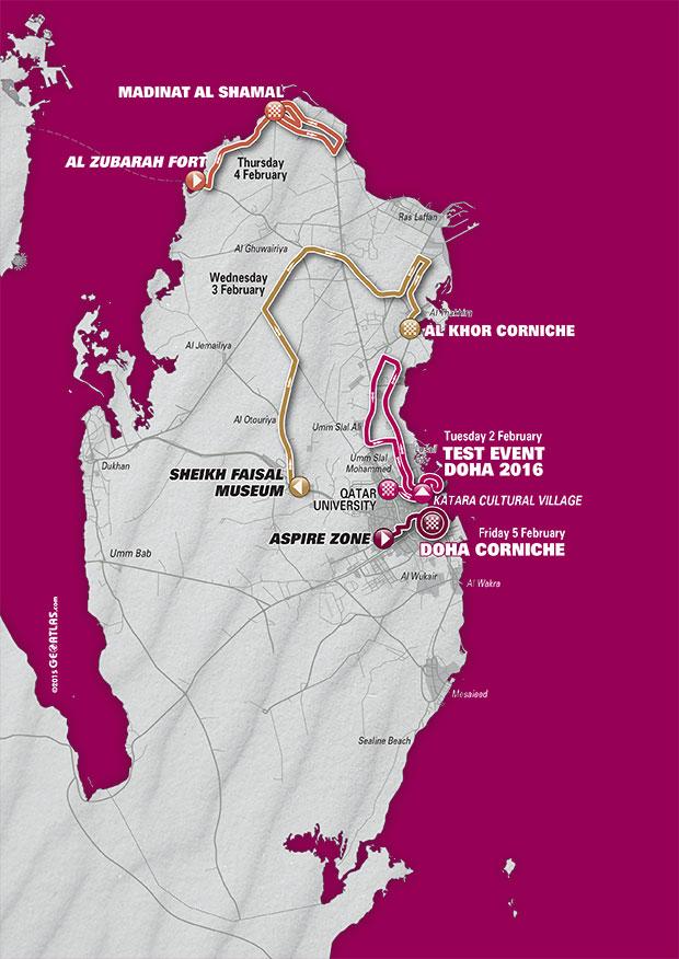 planimetria 2016 » 8th Ladies Tour of Qatar