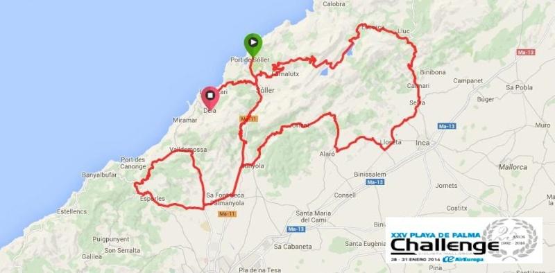 altimetrie 2016 » Challenge de Mallorca - Trofeo Serra da Tramuntana (1.1) - Soller › Deia (149.9 km)